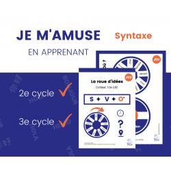 JEU de syntaxe - 2e cycle et 3e cycle