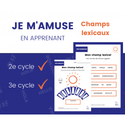 Cahier d'exercices - Champ lexicaL