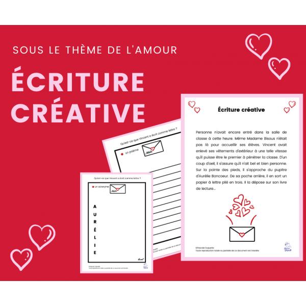 Situation d'écriture - Écriture Créative AMOUR