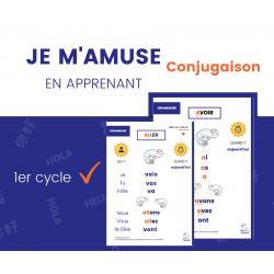 Conjugaison 1er cycle - Cahier d'étude des verbes