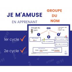 Groupe du nom - Aide-mémoire (1er et 2e cycle)
