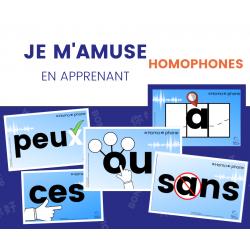 Homophones Illustrés Affiches 2e-3e cycle