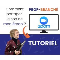Tutoriel Zoom - Enseigner à Distance Partage Vidéo