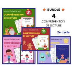 Compréhension de Lecture 2e cycle BUNDLE