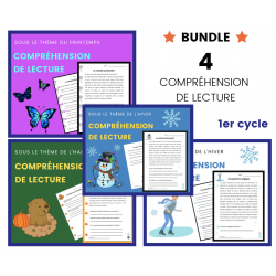 Compréhension de Lecture 1er cycle BUNDLE