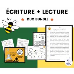 Situations d'Écriture + Compréhension de Lecture A