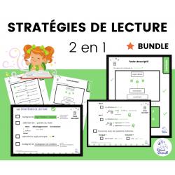 Aide-Mémoire Stratégies de Lecture BUNDLE