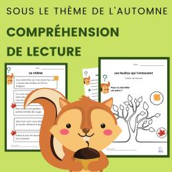 Compréhension de Lecture ARBRES Texte Informatif