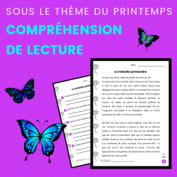 Compréhension de Lecture PRINTEMPS - Récit
