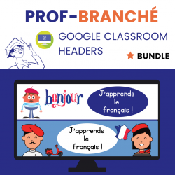 Google Classroom Headers BUNDLE