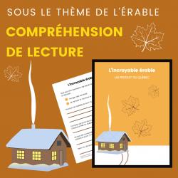 Compréhension de Lecture ÉRABLE - Texte Descriptif