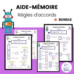 Aide-Mémoire Règles Accord du GN