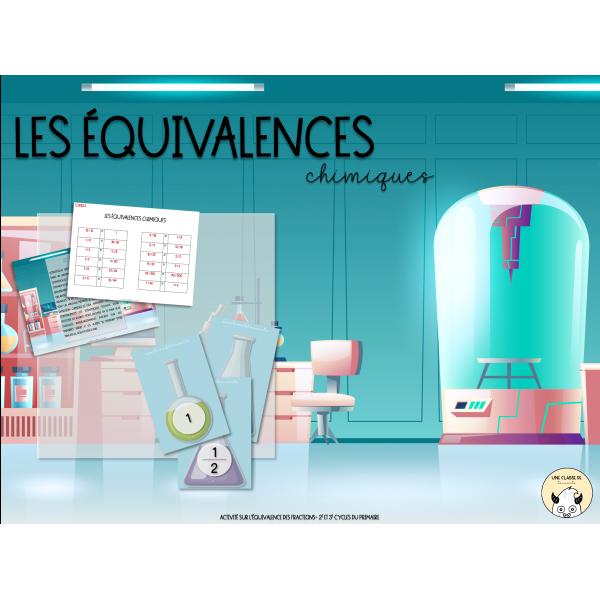 Les équivalences chimiques (2e et 3e cycles)