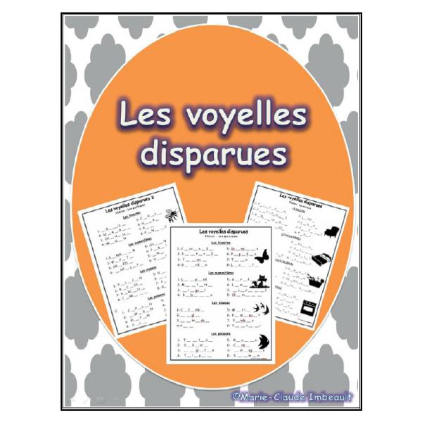 Voyelles disparues
