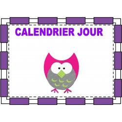 calendrier jour hibou