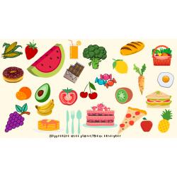 Cherche et trouve - Aliments