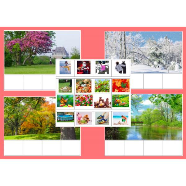 Association - Les saisons