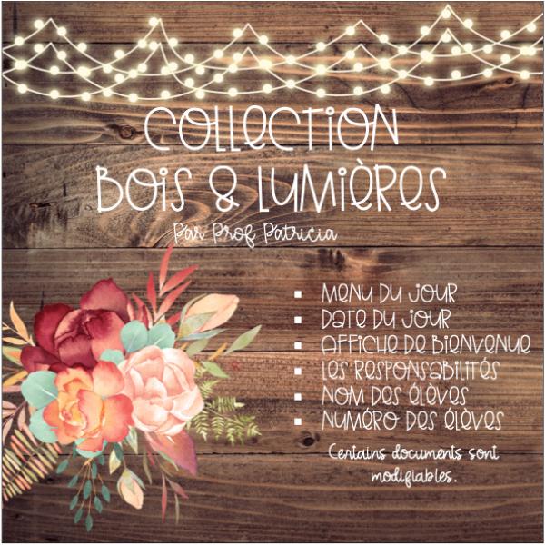 Collection Bois & Lumières