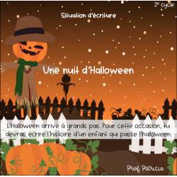 Situation d'écriture - Une nuit d'Halloween