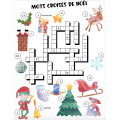 Cahier passe-temps Noël - 3e cycle