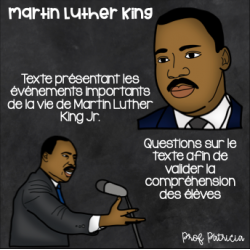 Martin Luther King - Examen de lecture