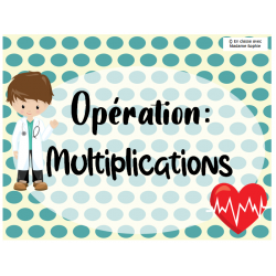 Opération: multiplications