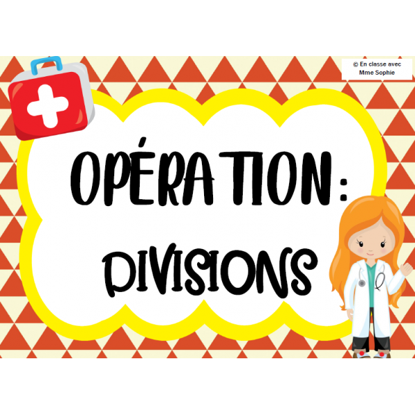 Opération: divisions