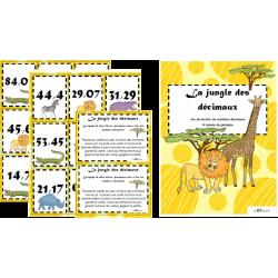 La jungle des décimaux - 2e 3e cycle
