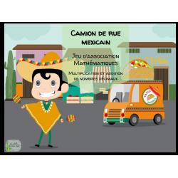 Atelier mathématiques - Camion de rue mexicain