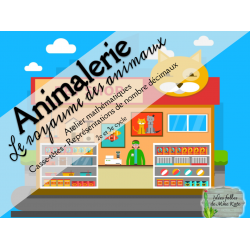 Atelier maths - À l'animalerie