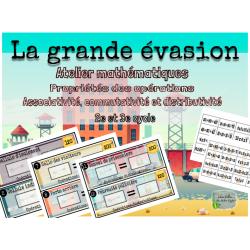 Atelier maths - La grande évasion