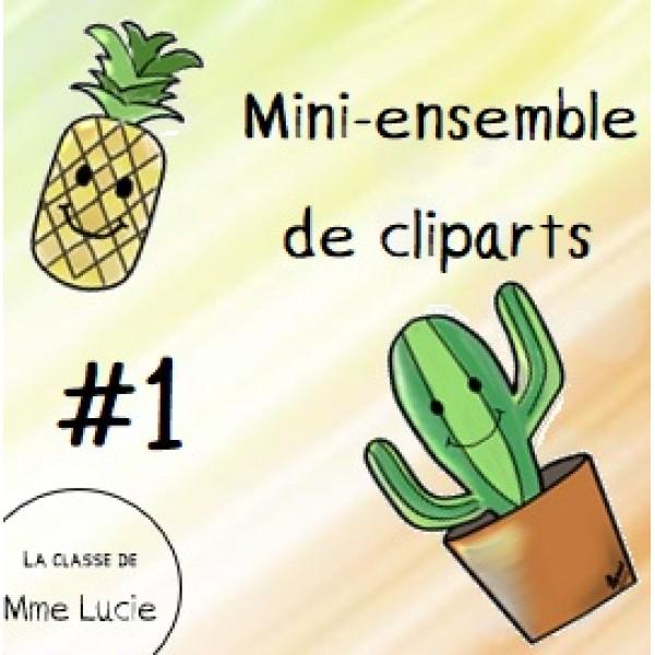 Mini-ensemble de cliparts - #1
