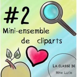 Mini-ensemble de cliparts - #2