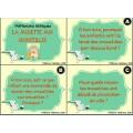 Cartes tâches éthique La mouette aux croustilles