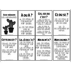 Aide-mémoire homophones cactus