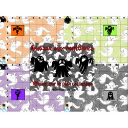 Chasse aux fantômes (jeu plan cartésien)