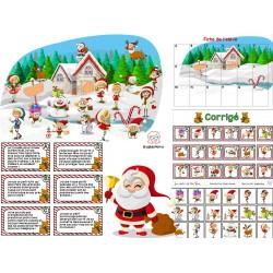 Inférences Le village du père Noël