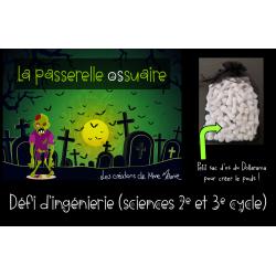 La passerelle ossuaire (Défi STIM Halloween)