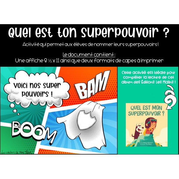 Capes superpouvoirs