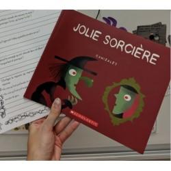 Fiche ÉCR Jolie sorcière 1er cycle