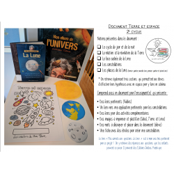 Document science espace (2e cycle)