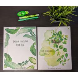 Planificateur 2020-2021 plantes