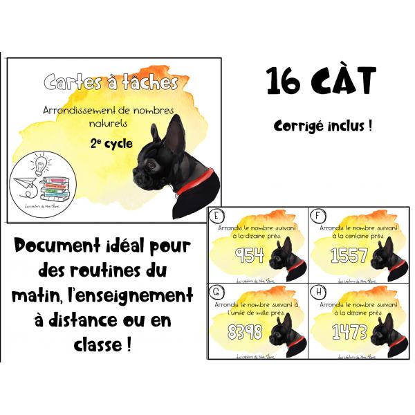 CÀT arrondissement nombres naturels