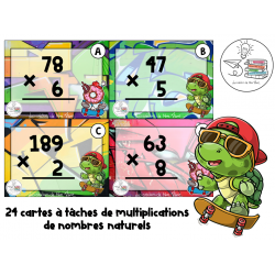 CÀT multiplications nombres entiers