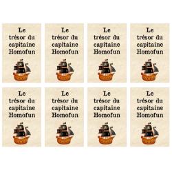 Le trésor du capitaine Homofun