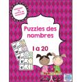 Puzzles des nombres [1 à 20]