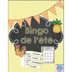 Bingo de l'été et des vacances