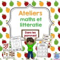 Activités pommes {Maths et littératie}