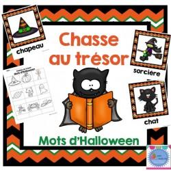 Chasse au trésor {Halloween}