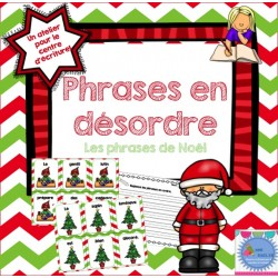 Phrases en désordre {Noël}